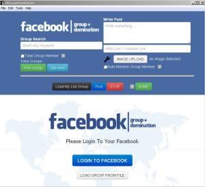 Aplikasi FB Group Domination reseller,
