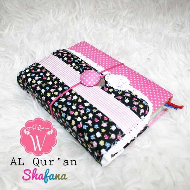 Al Quran Shafana Pink Black